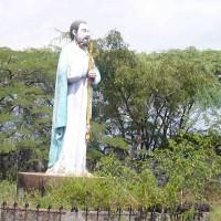 St. Thomas statue on Mount St. Thomas