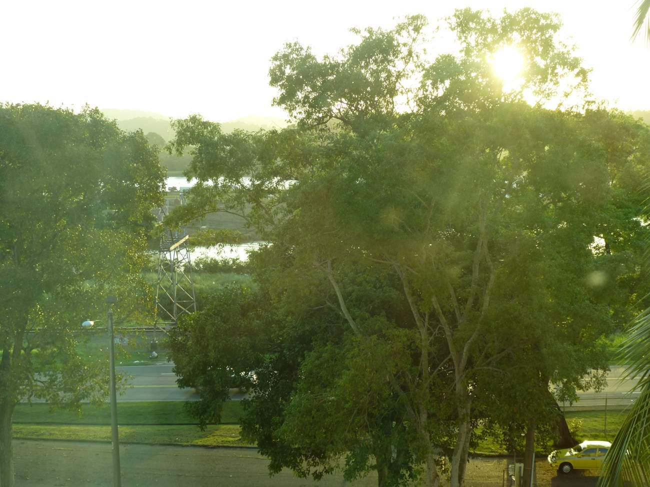 View of the Canal from our hotel room.